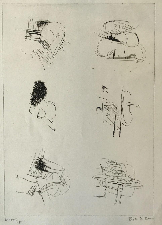 Henry Moore - Deconstructed Figures II