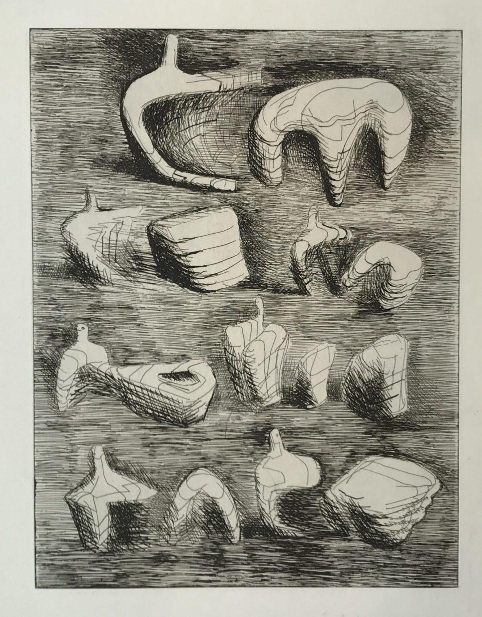 Henry Moore - Deconstructed Figures