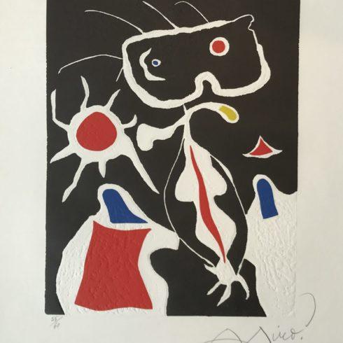 Joan Miró - Hommage a San Lazzaro