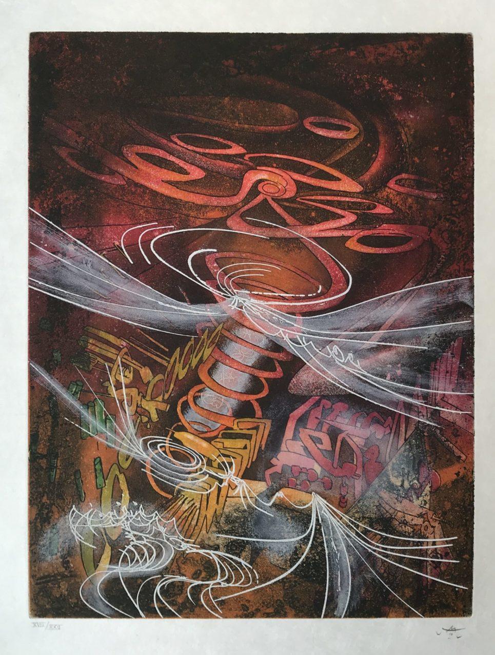 Roberto Matta - Untitled