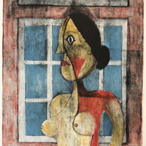 Rufino Tamayo - Retrato de Mujer