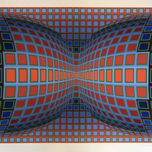 Victor Vasarely - Papillon