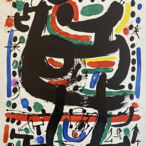 Joan Miro - Affiche pour Mourlot