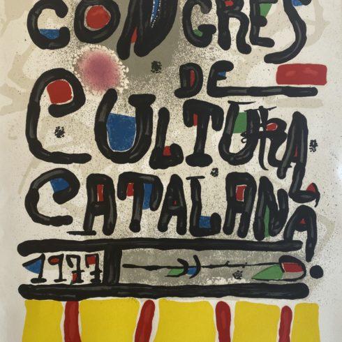 Joan Miró - Congres de Cultura Catalana
