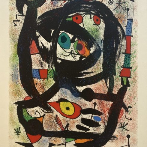Joan Miró - Lithograph for the County Museum of Art, Los Angeles