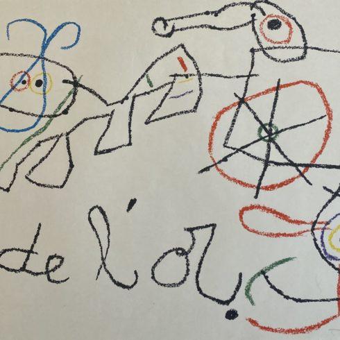 Joan Miró - Ubu aux Baleares I
