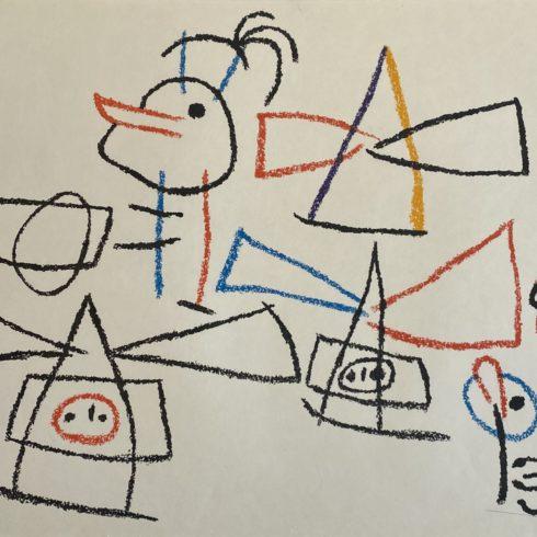 Joan Miró – Ubu aux Baleares II