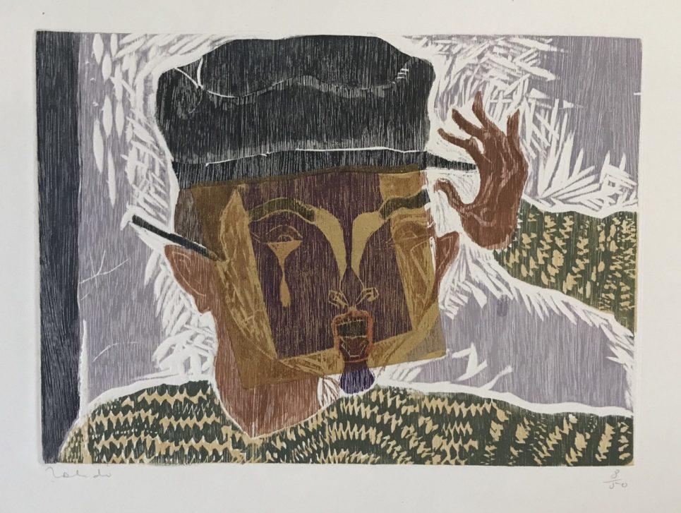 Francisco Toledo - Man with Mask