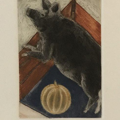 Francisco Toledo - Pig with Pumpkin