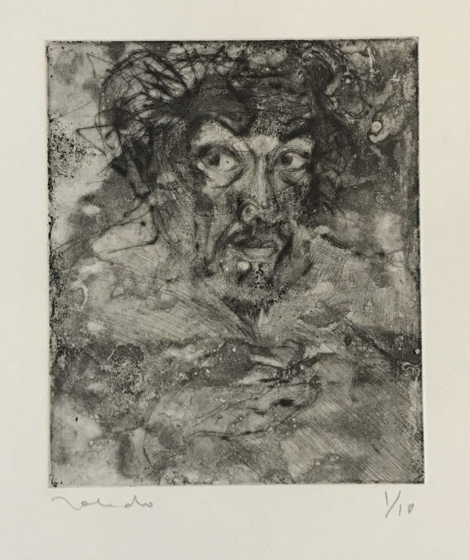 Francisco Toledo - Portrait in Black and White