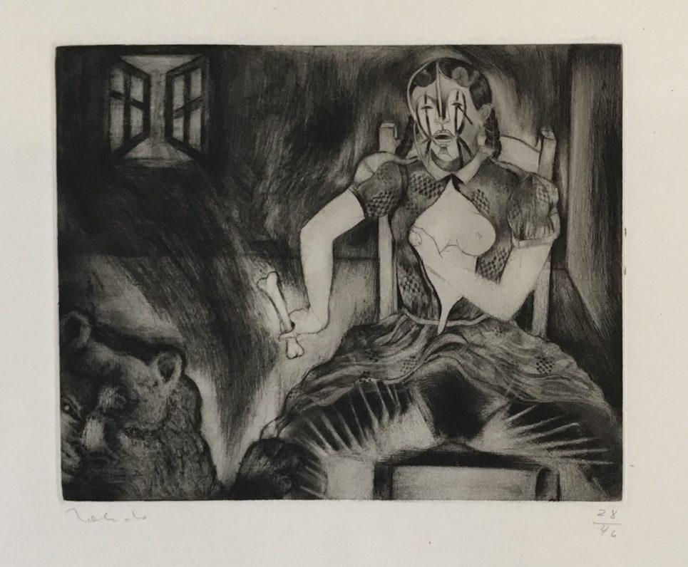 Francisco Toledo - Story of Elena: Lion and Window