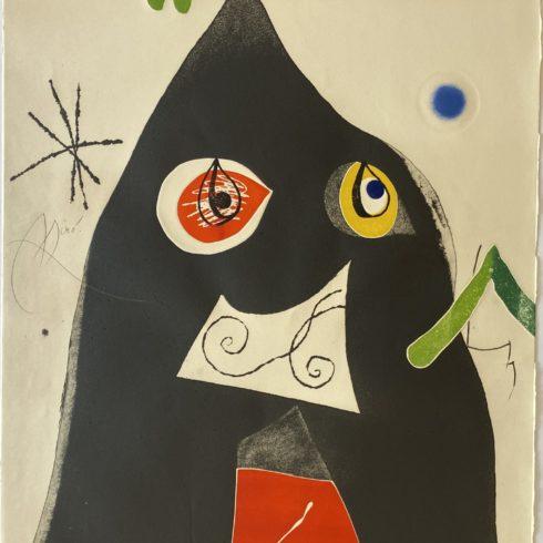 Joan Miró - Quatre Colors Aparien El Mon I