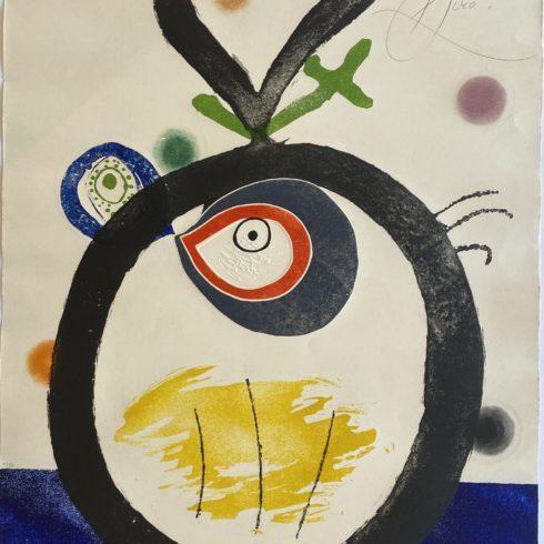 Joan Miró - Quatre Colors Aparien El Mon II
