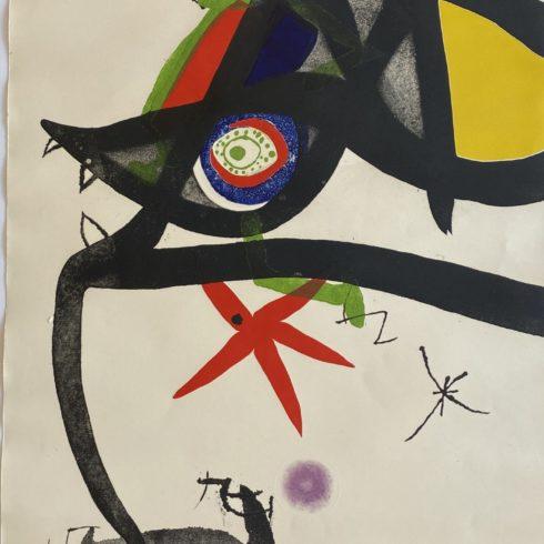 Joan Miro - Quatre Colors Aparien El Mon III