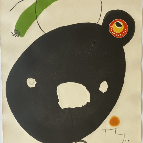 Joan Miró - Quatre Colors Aparien El Mon IV