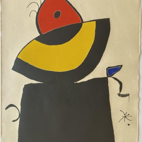 Joan Miró - Quatre Colors Aparien El Mon V
