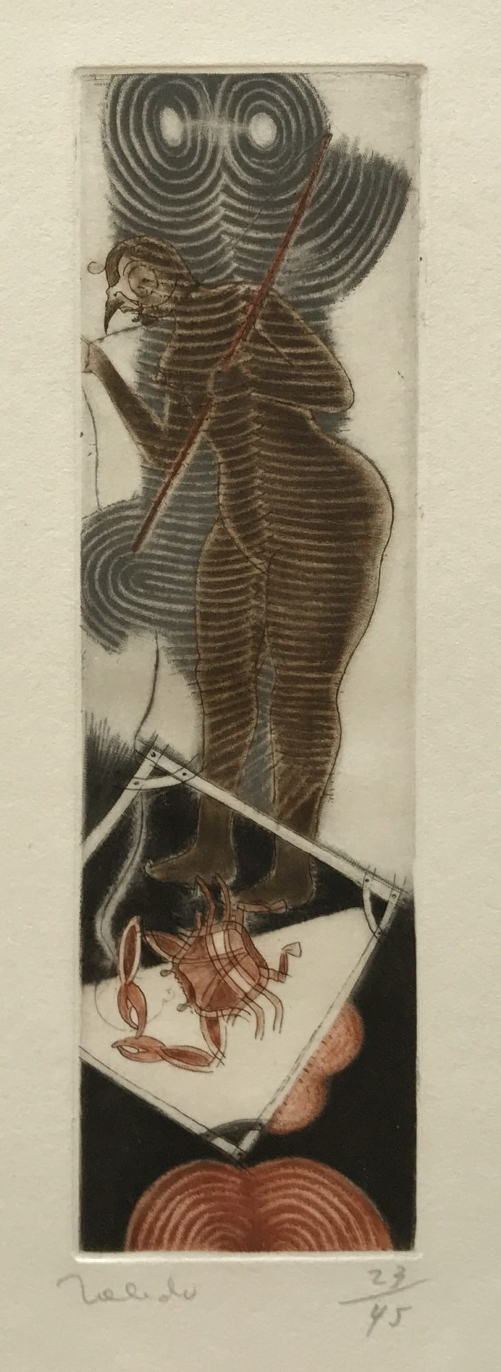 Francisco Toledo - Bird Woman with Crab