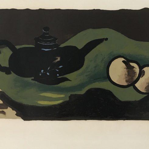 Georges Braque - Theiere et Pommes