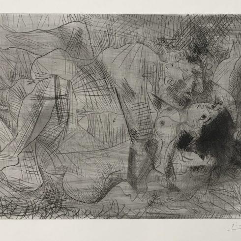 Pablo Picasso - Etreinte (B.1110)