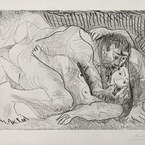 Pablo Picasso - Etreinte (B.1111)