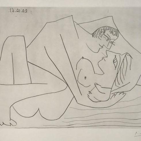 Pablo Picasso - Etreinte (B.1112)