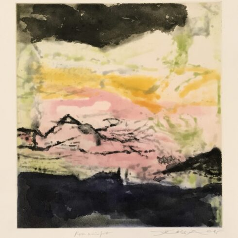 Zao Wou-Ki - Annonciation and Moments (386)